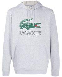 Lacoste ロゴ パーカー - グレー