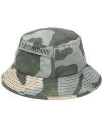 C P Company カモフラージュ バケットハット - グリーン