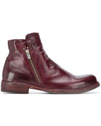 Officine Creative Side-zip Ankle Boots - Brown