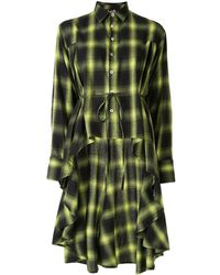 Haculla Kariertes Hemdkleid - Grün
