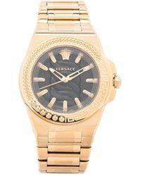 Versace Наручные Часы 40 Мм С Узором Greca - Черный