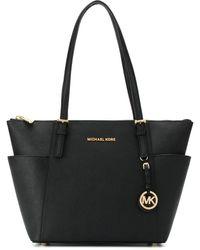 MICHAEL Michael Kors Trapeze Shoulder Bag - Zwart