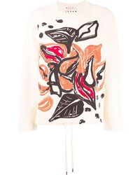 Marni グラフィック セーター - マルチカラー