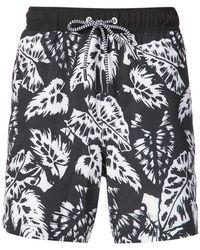 Michael Bastian - Printed Shorts - Lyst