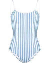 Sian Swimwear Costume intero Maria a righe - Blu