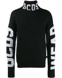 Gcds ブラック ロゴ タートルネック