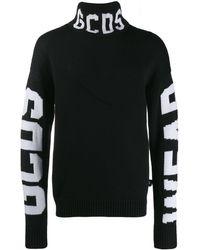 Gcds - ブラック ロゴ タートルネック - Lyst