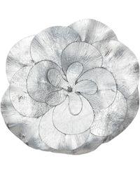 Isabel Marant Broche Power Flower à effet métallisé
