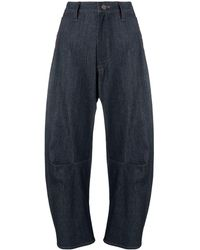 Y's Yohji Yamamoto Cropped Jeans - Blue