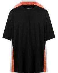 Y. Project ストライプトリム Tシャツ - ブラック