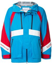 White Mountaineering ウインドブレーカー - ブルー
