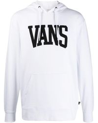 Vans ロゴ パーカー - ホワイト