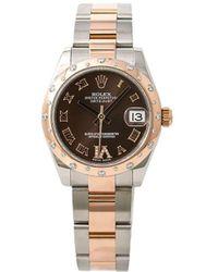 Rolex Наручные Часы Datejust 31 Мм 2015-го Года Pre-owned - Коричневый