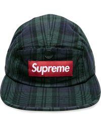 Supreme Snap Button Pocket Camp Cap - Multicolore