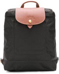 Longchamp Рюкзак 'le Pliage' - Черный