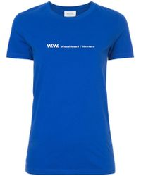 WOOD WOOD - W.w. T-shirt - Lyst