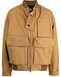 WOOYOUNGMI ポケットディテール ジャケット - ブラウン
