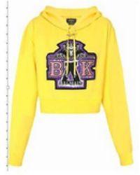 Balmain Embroidered hoodie X BEYONCÉ - Giallo