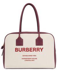 Burberry - Сумка-тоут С Принтом Horseferry - Lyst