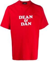 DSquared² - Dean & Dan Tシャツ - Lyst
