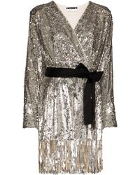 ROTATE BIRGER CHRISTENSEN Samantha Dress - Metallic