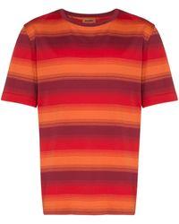 Missoni ストライプ Tシャツ - レッド