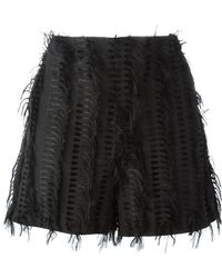 Chalayan - 'nothing' Frayed Shorts - Lyst