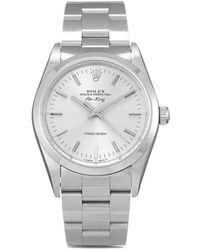 Rolex 1993 Pre-owned Air-king Precision Horloge - Metallic