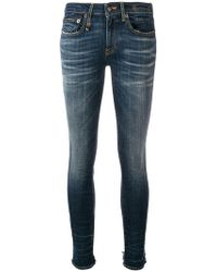 R13 - Classic Skinny Jeans - Lyst