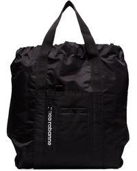 Paco Rabanne ロゴ ハンドバッグ - ブラック