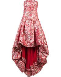 Zac Zac Posen Vestido de fiesta Celine - Rojo