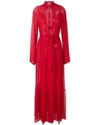 Amir Slama Платье Макси - Красный