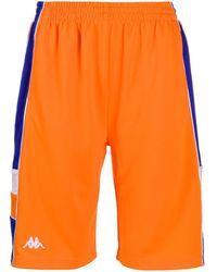 Kappa Side Logo Shorts - Orange