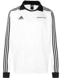 Gosha Rubchinskiy - X Adidas Long Sleeve Jersey - Lyst