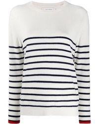 Chinti & Parker Breton Striped Tipped-cuff Sweater - Multicolor