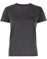 Carhartt WIP ロゴ Tシャツ - ブラック