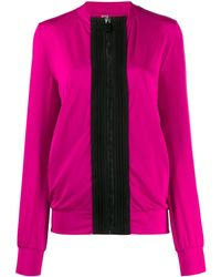 NO KA 'OI Two-tone Track Jacket - Pink