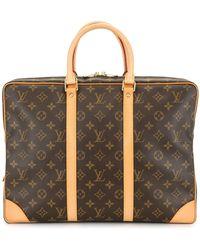Louis Vuitton 2005 プレオウンド ボヤージュ ビジネスバッグ - ブラウン