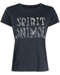 Mother Goodie Goodie グラフィック Tシャツ - ブラック