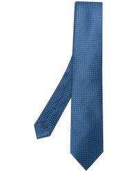 Brioni - Geometrical Print Tie - Lyst