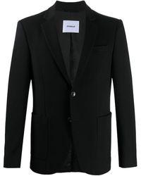 Dondup テーラードジャケット - ブラック