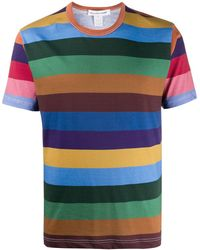 Comme des Garçons ストライプ Tシャツ - マルチカラー