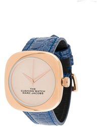 Marc Jacobs Наручные Часы The Cushion - Синий