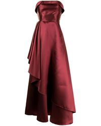 Sachin & Babi Blair イブニングドレス - レッド