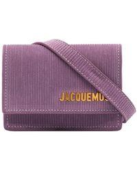 Jacquemus Поясная Сумка La Centure Bello - Пурпурный
