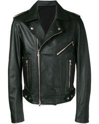 Balmain ライダースジャケット - ブラック