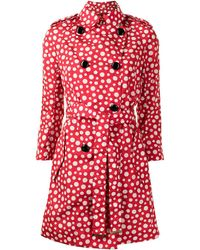 Louis Vuitton Trench Pre-owned Dots Infinity Yayoi Kusama - Rosso