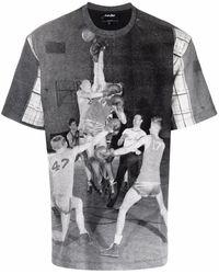 Just Don グラフィック Tシャツ - ブラック