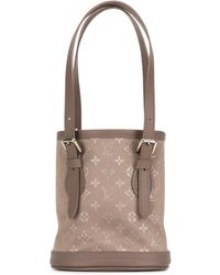 Louis Vuitton 2001 バケットバッグ - ブラウン