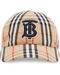 Burberry Gorra de béisbol con estampado monograma - Multicolor